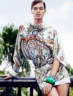 Rianne ten Haken Sports Elegant Style for Elle Spain?s March Issue by Xavi Gordo - Fashion gone rogue - Models & Co