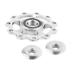 Aluminum Alloy Bicycle Rear Jockey Wheel Road Mountain Bike Guide Roller Idler Pulley Part Cycling Bike Accessories
