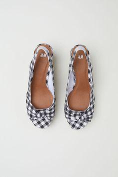 Sandálky na klínu - Bílá - ŽENY | H&M CZ 3
