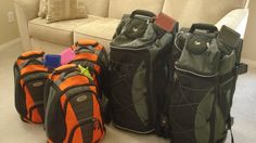 This is my families 72 hour kits. The kids have rolling backpacks and we have rolling duffel bags to hold more items. You can buy ready made...