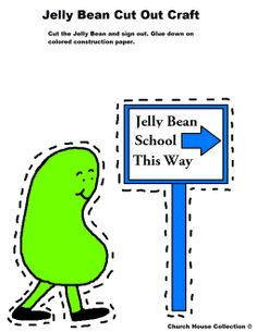 Cave City School Jelly Bean Cut Out Activity Sheet For Kids 3.jpg (1019×1319)  #Jelly #Beans #jellybeans #Easter #crafts