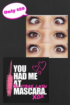You had me at 3D Fiber Lash Mascara! XOXO www.facebook.com/angelasyouniquelashes OR www.youniqueproducts.com/angelaphelps