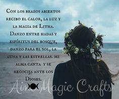 Visita la entrada para saber más Wiccan Magic, Reiki, Witches, Heart, Interior, Quotes, Summer Solstice, Frases, Amor