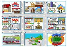 Asking for directions – there be, prepositions, directions [map / boardgame + 4 tasks + 24 cards + 4 suggestions for the use of the ws] ((4 pages)) ***editable