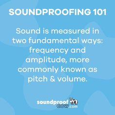 Sound Hack! You have the power to be pitch perfect! Call us at 1-866-949-9269 for more details! #sound #soundproofing