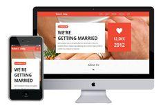 gratis HTML5 dating mallar