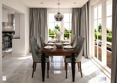 Dom z nutą glamour - Jadalnia, styl eklektyczny - zdjęcie od KOLORUM