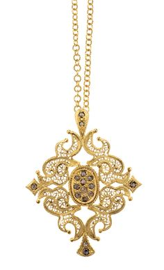 Eleuterio Jewels - #portuguese handmade filigree!- beautiful necklace with a pendant