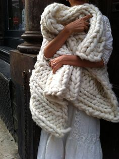 http://www.aliexpress.com/store/1687168 Loopy Mango Big Loop Merino Yarn In Ivory by loopymango on Etsy, $185.00