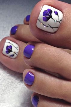 The Fundamentals of Toe Nail Designs Revealed Nail art is a revolution in the area of home services. Nail art is a fundamental portion of a manicure regimen. If you're using any form of nail art on your nails, you… Continue Reading → Pretty Toe Nails, Cute Toe Nails, Fancy Nails, Diy Nails, Pretty Toes, Toe Nail Color, Toe Nail Art, Summer Toe Nails, Beach Toe Nails