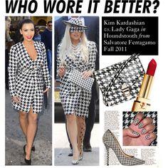 [DONE] Kim Kardashian or Lady Gaga