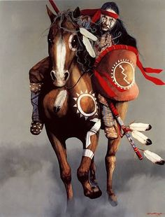 "The horse was used for multiple purposes besides hunting and transportation such as gifts, trade, food, and weapons. Horses were seen as a symbol of marriage and would often be traded with other tribes in exchange for a wife. Indian men would often ""buy ceremonial privileges"" by giving horse to another Indian group . Horses were also given as gifts to children when they were old enough to start riding. This was important because this increased the number of participants in the hunting…"