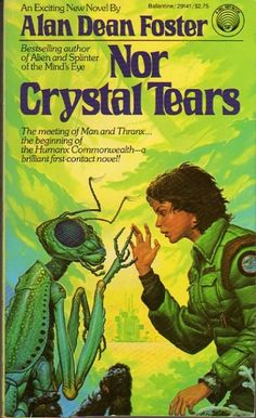 Michael Whelan - cover art for Nor Crystal Tears by Alan Dean Foster - 1982 Ballantine Books paperback #29141
