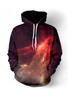 Neue art und weise raum galaxy sweatshirt hoodies 3d drucken hip hop mäntel beiläufigen sweatshirt tops sportwear