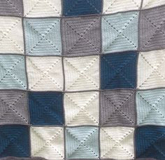 Grey and teal basic granny square patchwork crochet blanket etsy crochet pattern gypsy granny square crochet blanket us etsy Granny Square Crochet Pattern, Crochet Squares, Crochet Blanket Patterns, Crochet Granny, Baby Blanket Crochet, Granny Square Häkelanleitung, Granny Squares, Crochet Basics, Knitted Blankets
