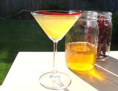 Sweet Heat Cocktail via @boozedinfused