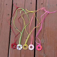 DIY Washer Necklaces Kids Can Make