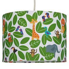 Buy little home at John Lewis Animal Fun Jungle Lampshade Online at johnlewis.com