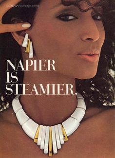 Napier 1986Model: Sheila Johnson