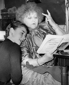 Audrey and Colette, 1951. Audrey Hepburn Estate Collection.