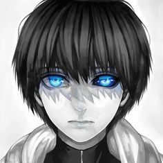Kaneki from the Tokyo Ghoul anime