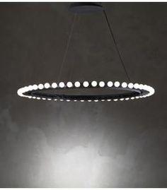 """Big Shine"" bulb chandelier | lighting . Beleuchtung . luminaires | Design: Arik Levy foe Nilufar |"