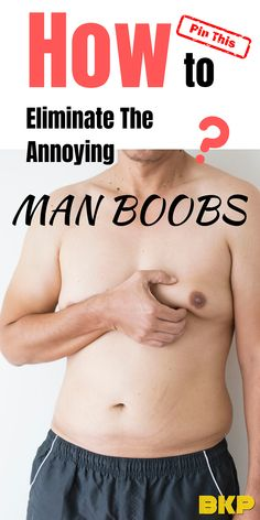How to lose Man Boobs? The common myths of man boobs can you eliminate it by doing more push-ups, heavier bench press or more jogging? Sport Fitness, Mens Fitness, Fitness Tips, Muscle Fitness, Shape Fitness, Health Fitness, Men Health, Chest Workout For Men, Chest Workouts