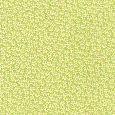 Speckle Green Yellow Liberty of London Tana Lawn Fabric Half Yard. $17,50, via Etsy.