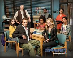 Community    I started to watch because of Joel and hten soon realized tha tit is the greatest show ever.