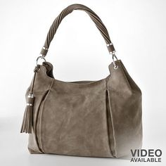 Dana Buchmann Gathered Hobo Bag.  Love.