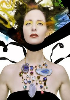 Editorial fashion jewelry shoot.
