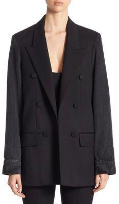 Alexander mcqueen black peplum jacket