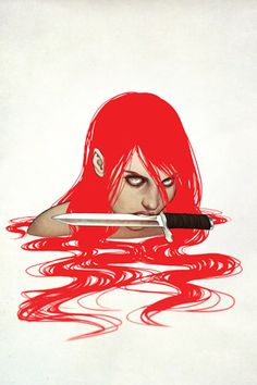 comixology: Can we talk about how amazing this Jenny Frison cover is for Red Sonja Hellooooo new iPad background. Red Sonja, Hack And Slash, Comic Book Characters, Comic Books Art, Book Art, Moon Knight, Pulp, Sword And Sorcery, Nerd Geek