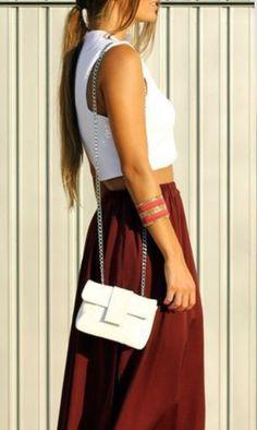 LoLoBu - Women look, Fashion and Style Ideas and Inspiration, Dress and Skirt Look Fashion Mode, Look Fashion, Street Fashion, Fashion Beauty, Womens Fashion, Trendy Fashion, Luxury Fashion, Fashion 2015, China Fashion