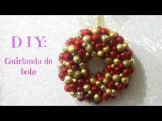 DIY: Guirlanda de bola (Especial de natal) - YouTube