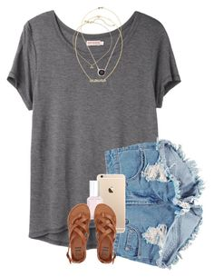 """""""I'm going to my cousins graduation this weekend :)"""" by erinlmarkel ❤ liked on Polyvore featuring Organic by John Patrick, Boohoo, Essie, Billabong, Kimberly McDonald and Kate Spade"""