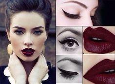 МОДНАЯ ТЁМНАЯ ПОМАДА: КАК ПРАВИЛЬНО ПОДОБРАТЬ? Если у вас светлая кожа голубые или светло-серые глаза и светлые или русые волосы вам идеально подойдет помада цвета сочной сливы. Обладательницам зеленых или светло-карих глаз и рыжих или каштановых волос придутся по вкусу коричнево-шоколадные оттенки. Если под описание вашей внешности попадают карие глаза и темно-русые волосы - выбирайте помады оттенка бордо или спелой вишни. А вот брюнеткок с темными глазами и смуглой кожей можно назвать…