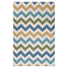 Anchor your living room or master suite with this chic flatweave rug, crafted of wool and showcasing a stylish multicolor chevron motif.  5 X 8 = $215    ...