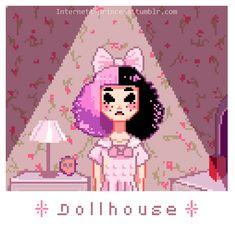 Melanie Martinez Fan Art by internett-princess Crybaby Melanie Martinez, Pixel Art, Melanie Martinez Drawings, Drawings, Kawaii, Melanie Martinez Anime, Artist, Anime, Fan Art