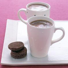 Steamy Hot Chocolate Recipe   Martha Stewart