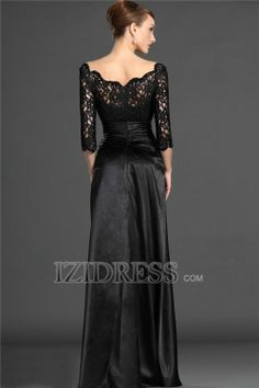 A-Line Off-the-shoulder Elastic Woven Satin Mother Of The Bride Dresses - IZIDRESS.com at IZIDRESS.com
