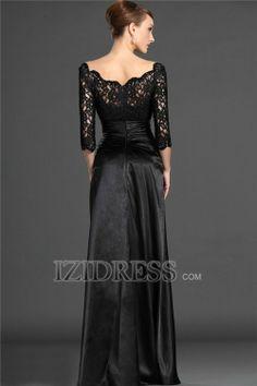 A-Line Off-the-shoulder Elastic Woven Satin Mother Of The Bride Dresses - IZIDRESS.com at IZIDRESS.com