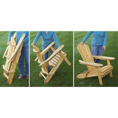 CASTLECREEK Folding Wood Adirondack Rocking Chair   232380, Patio Furniture  At Sportsmanu0027s Guide