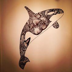 Killerwhale fish Blackfish sea water