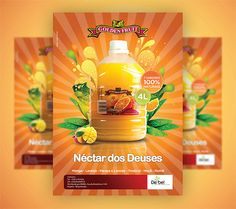 Golden Fruit Juice Ad Posters   Flickr - Photo Sharing!