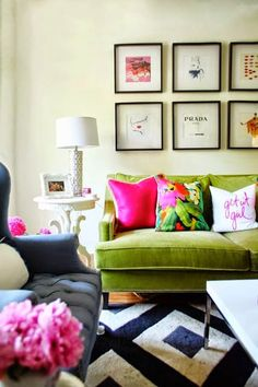 South Shore Decorating Blog Preppy Passion Navy Blue And Hot Pink