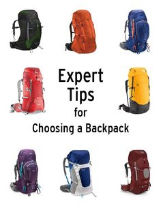 "Best Backpacks: How to choose the backpack for you - general advice. ""Pack capacity is a key consideration, yet nothing is more important than choosing a pack according to your torso length. No matter how little or how much gear you're carrying, you want your pack to fit your frame comfortably."""