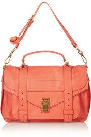 Proenza SchoulerThe PS1 medium leather satchel