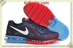 Nike Air Max 2014 Mens Midnight Navy Cym Red Blue Lemonade 621077 416