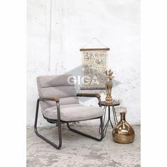 Stoere Lifestyle fauteuils nu bij Giga meubel